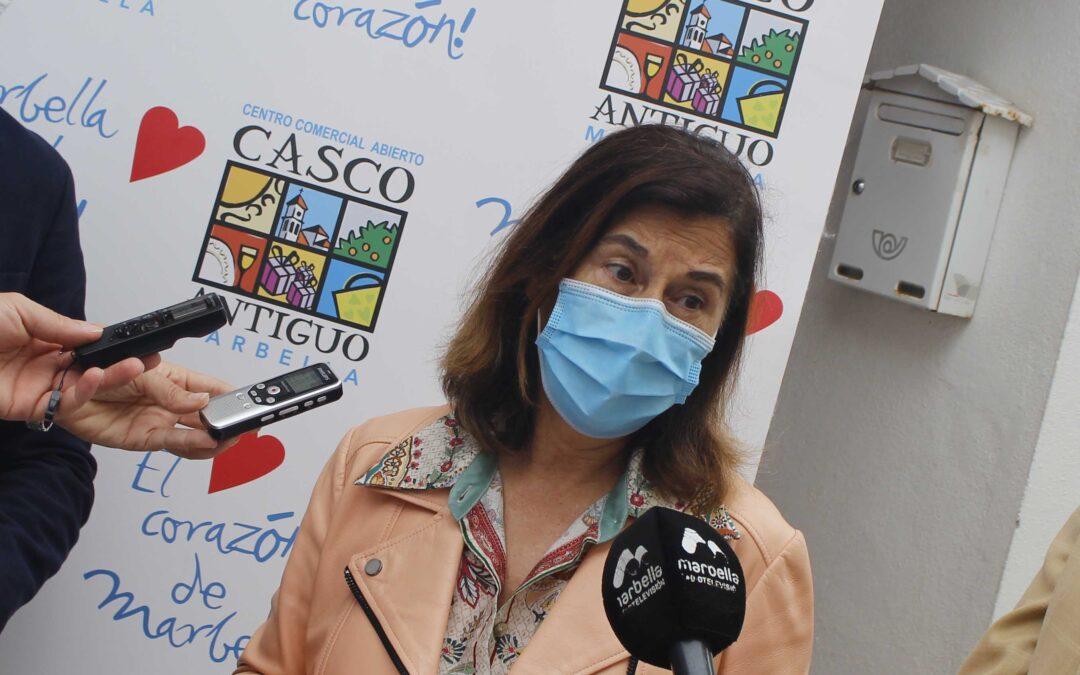 Entrevista a Carola Herrero en la Cope Marbella.